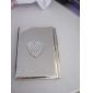 """""""O amor nota"""" bloco de notas em tons de prata e uma caneta de luxo"""