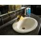 Waterfall Bathroom Sink Faucet (Ti-PVD Finish)