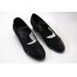 Chaussures de danse (Noir Talon bas - Similicuir - Moderne