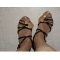 satinée supérieure femmes / enfants chaussures danse de salon latin chaussures