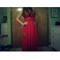 MILANA - Vestido de Noche de Gasa
