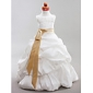 Ball Gown Scoop Floor-length Taffeta Flower Girl Dress