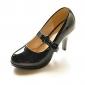 en cuir verni supérieure pompes talon aiguille avec le parti bowknot / chaussures de soirée plusieurs couleurs Aavailable