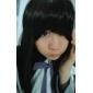 geinspireerd door Puella Magi Madoka Magica Homura Akemi Anime Cosplay Kostuums Cosplay Kostuums / Schooluniformen Patchwork  WitLange