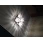 Max 25W Montage du flux ,  Contemporain Plaqué Fonctionnalité for Cristal Métal Salle de séjour / Chambre à coucher / Couloir