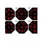 Nail Art Stamp Stamping Image Template Plate KD Series