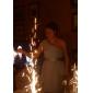 신부 들러리 드레스 - 다크 네이비 A라인/프린세스 무릎길이 원 숄더 쉬폰 플러스 사이즈