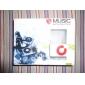 Mini Fastklämbar Plug-in Micro SD-Kort TF-kortläsare MP3-Spelare - Vit