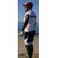 82% nylon mäns skyddande cykling arm ärm