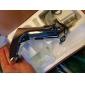 Waschbecken Wasserhahn Messingoptik mit automatischer Sensor (warm und kalt)