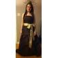 Lanting Bride Longueur Sol Taffetas Robe de Demoiselle d'Honneur  Trapèze / Princesse Sans Bretelles Grande Taille / Petite avecNoeud(s)