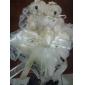 nuntă pernă inel în satin fildeș cu ursul minunat și dantele