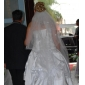 Wedding Veil With Three Layers Waltz Veils