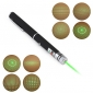 Pen Shape 5-Pattern Special Effect 5mW 532nm Green Laser Pointer (2xAAA)