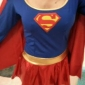 Superman Sexy Supergirl Adult Women Halloween Costume(1 Pieces)