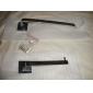 YALI.M®,Toalettpappershållare Krom Väggmonterad 60 x 190 x 48mm (2.36 x 7.48 x 1.88