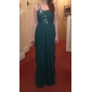 Formal Evening/Prom/Military Ball Dress - Sage Plus Sizes Sheath/Column One Shoulder/Sweetheart Floor-length Chiffon