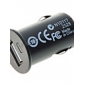 Car Cigarette Powered 5V-1A USB Adapter/Charger - Black (DC 12V) for iPhone 6 iPhone 6 Plus