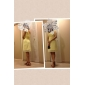 Knee-length Chiffon Bridesmaid Dress - Daffodil Plus Sizes Sheath/Column One Shoulder