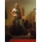 LYNSAY - Vestido de Noche de Tafetán