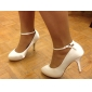 Satin Stiletto Pumps With Buckle For Wedding (More Colors)