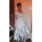Costumes de Cosplay Costume de Soirée Princesse Conte de Fée Fête / Célébration Déguisement d'Halloween Blanc Mosaïque Robe Collier Gants