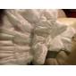 A-line/Princess Floor-length Flower Girl Dress - Satin/Taffeta Sleeveless