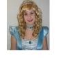 capless allerbedste kvalitet Kanekalon dejlige prinsesse stil lange krøllede paryk