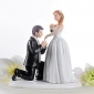 Cake Toppers Carriage Bride & Groom  Cake Topper