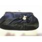 seta shell con strass / bowknot borsette da sera / frizioni più colori disponibili