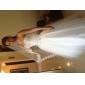 Ball Gown Sweetheart Strapless Floor-length Tulle Wedding Dress