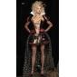 Sexy Reine des Coeurs Off the Shoulder Costume Halloween Dres (3pièces)