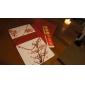 Zij Vouw 50 Stuk/Set Uitnodigingskaarten Uitnodigingen van het Huwelijk Niet-gepersonaliseerde