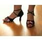 satin / konstläder övre dansskor balsal latinska skor för kvinnor mer färger