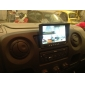 7 tum bilen framifrån / backspegel-skärm med 4 kameror