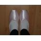 desempenho personalizar dança sapatos de cetim superior baixo caixa de sapatilhas de balé mais cores