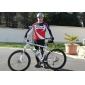 MYSENLAN® Cykeltröja och tights Herr Lång ärm Cykel Håller värmen / Vindtät / Fleecefoder / Bärbar / 3D Pad / ReflexremsaByxa / Tröja /