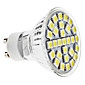 3W GU10 LED-spotlights MR16 29 SMD 5050 170 lm Naturlig vit AC 100-240 V