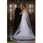 1 Layer Beautiful Cathedral Wedding Veil