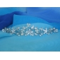 Rhinestone Flower And Pearl Tiara