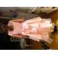 Ball Gown/A-line/Princess Tea-length Flower Girl Dress - Satin/Organza Sleeveless