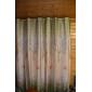 Deux Panneaux Le traitement de fenêtre Rustique , Feuille Salle de séjour Polyester Matériel Rideaux Tentures Décoration d'intérieur For