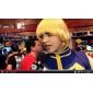 Perruques de Cosplay Kingdom Hearts Roxas Doré Court Anime/Jeux Vidéo Perruques de Cosplay 35 CM Fibre résistante à la chaleur Masculin