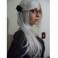 Cosplay Peruker Natsume Yuujinchou Cosplay Vit Medium Animé Cosplay Peruker 70 CM Man / Kvinna