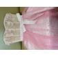 Lanting Bride® A-라인 / 공주 퍼티트 / 플러스 사이즈 웨딩 드레스 - 쉬크&모던 / 피로연 드레스 리틀 화이트 드레스 무릎 길이 스윗하트 튤 와