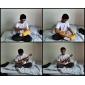 Tom - (tom211) mahogny sopran ukulele med Gig Bag / plockar