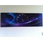 style moderne abstrait horloge murale dans la série de 3 toile