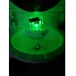 Bathroom Sink Faucet Color Changing LED Waterfall (Chrome Finish)