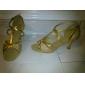 similicuir / mousseux paillettes supérieure des femmes chaussures de danse latine de bal de style pratique de plusieurs couleurs
