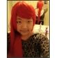 cosplay peruk inspirerad av Shakugan ingen Shana Shana